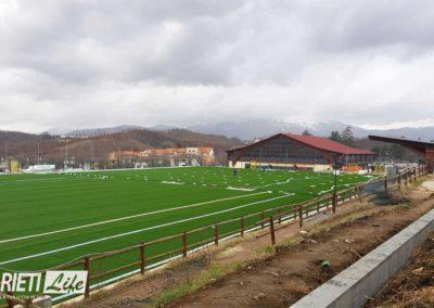 Amatrice, ecco il nuovo campo da calcio in sintetico finanziato con le multe della Serie A 4