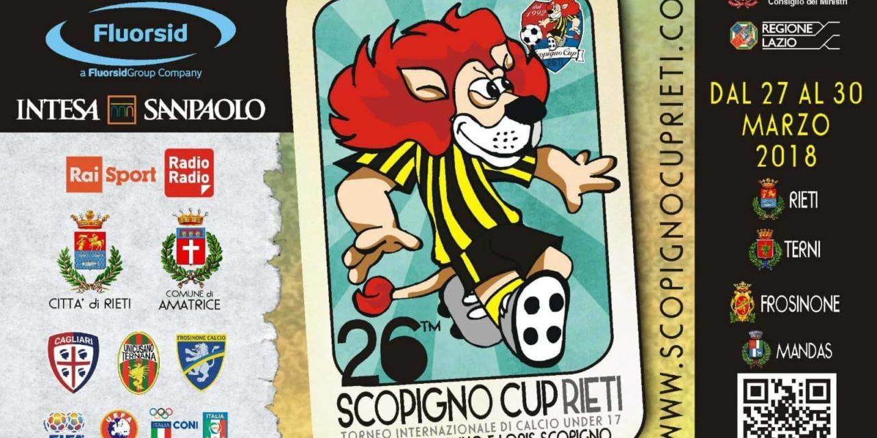 È iniziato il countdown verso la 26esima edizione della Scopigno Cup