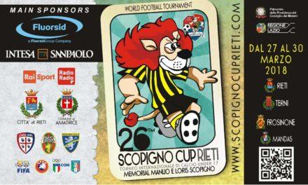 """Presentazione 26esima edizione """"Scopigno Cup"""""""