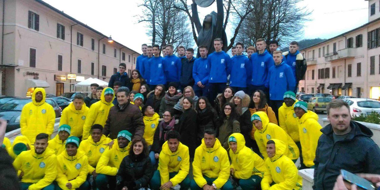 Atalanta, Palmeiras e Nordhorn scoprono Rieti. Che accoglienza per le squadre della Scopigno Cup