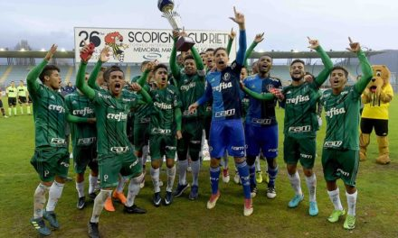 PALMEIRAS UNDER 17 WORLD CHAMPION