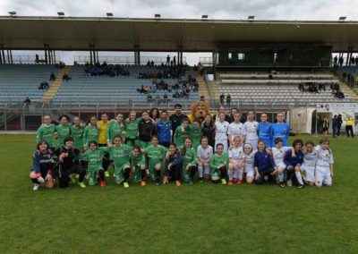 Calcio Femminile Ternana e Roma insieme