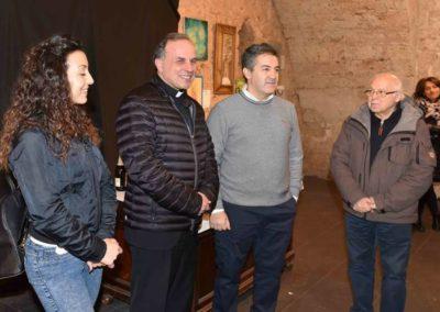 Il Vescovo di Rieti all'Inaugurazione della mostra