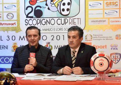 Presentazione 26° Scopigno Cup diretta RADIO RADIO e TV