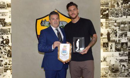 Consegnato il Premio Manlio Scopigno Platinum Boy a Lorenzo Pellegrini
