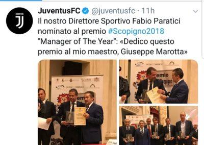Juventus Premio Manlio Scopigno