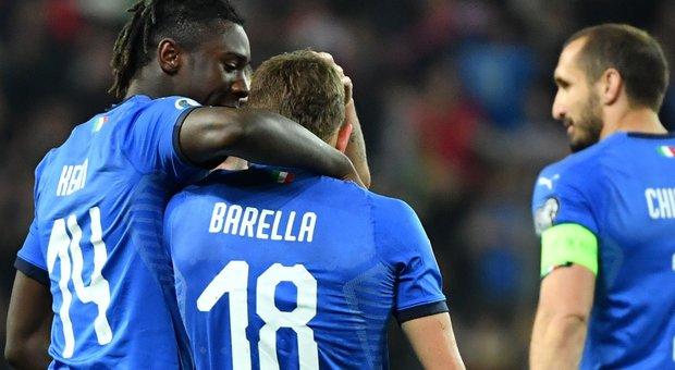 """Rieti, i gol """"azzurri"""" di Kean e Barella, altro spot per la """"Scopigno Cup"""". Formichetti: «Che emozione vederli segnare»"""